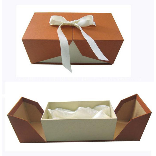 High Qulity Wine Packing Box With Ribbon