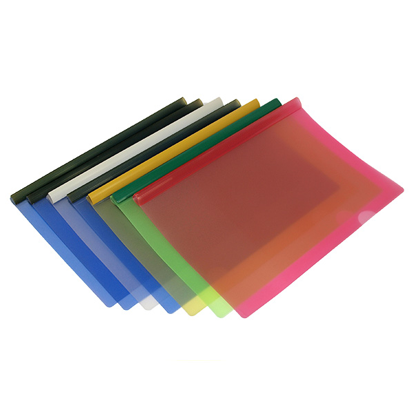 China Discount Colors PP Pumping Rod Report Folder Printing Customized  PP PVC Pumping Rod Binder Factory