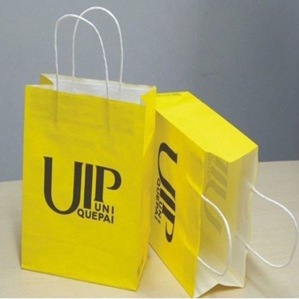 customized popular kraft paper bags