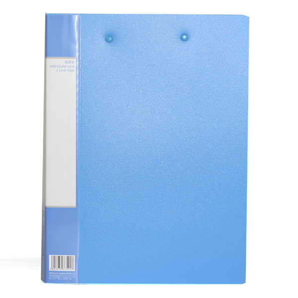 Ex-Factory Price  China OEM  Punchless File Folder For Office and Education Cheap Custom Punchless Report Binder Design