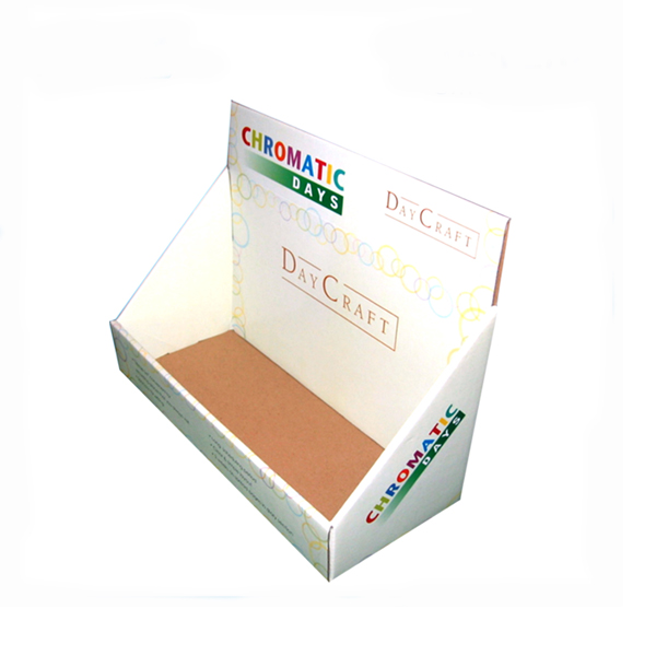 Printed Courrugated Paper Pdq Display Boxes