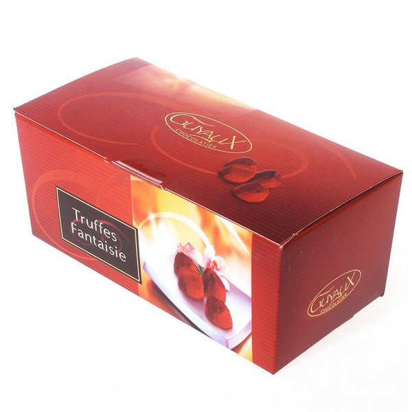 full color E-flute cardboard chocolate packaging box printing