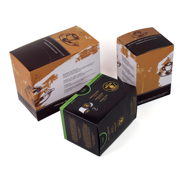 customize cheap paper packaging box for coffee products
