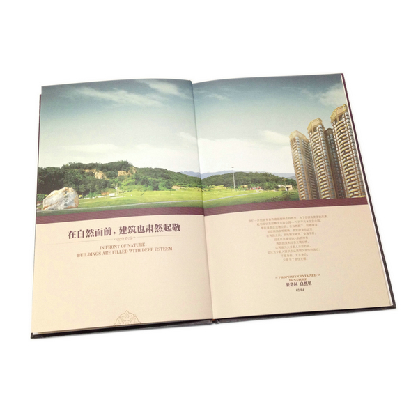 Factory Price Luxury Full Color Estate Book Printing