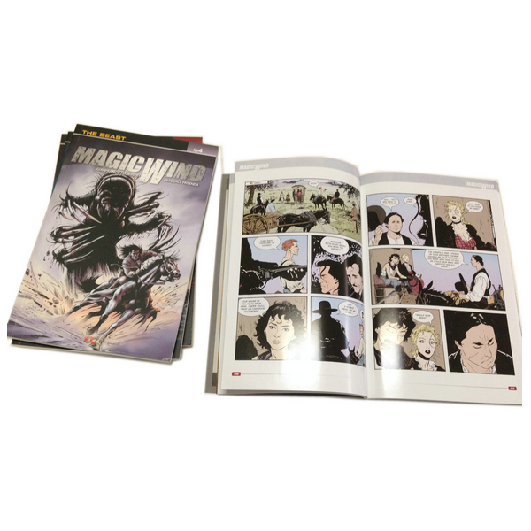 Customized Full Color Heroes Comic Book Printing With High Quality