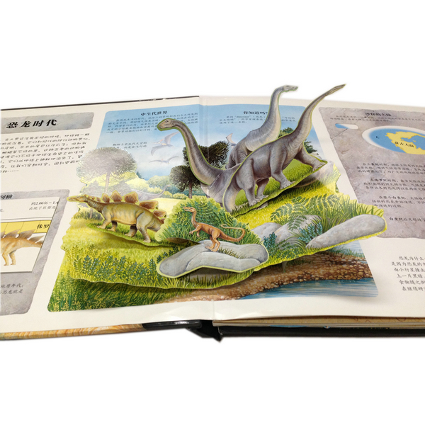 Manufacturer High Quality Full Color Pop-up Book Printing