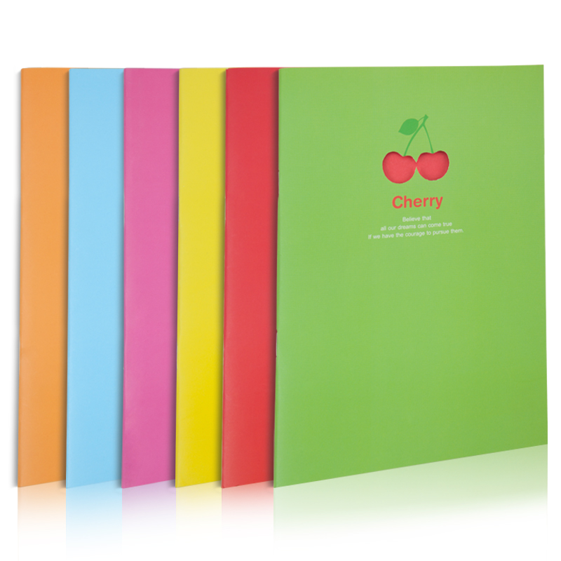 2015 Newest Cheap  Softcover Exercise Book With Saddle Stitch Binding
