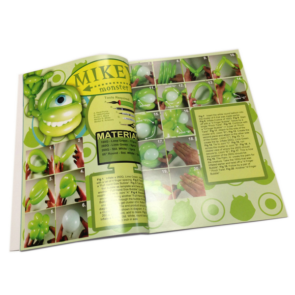 Cheap Hot Sale High Quality Full Color Craft Guiding Book Printing