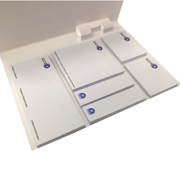 Common offset white paper sticky meo pad