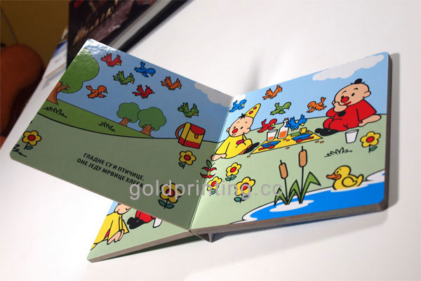 Children Cardboard Book Printing