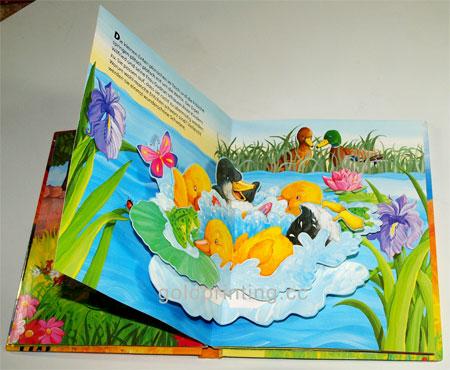 childrens pop up books printing